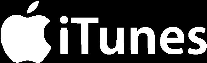 iTunes logo i vitt